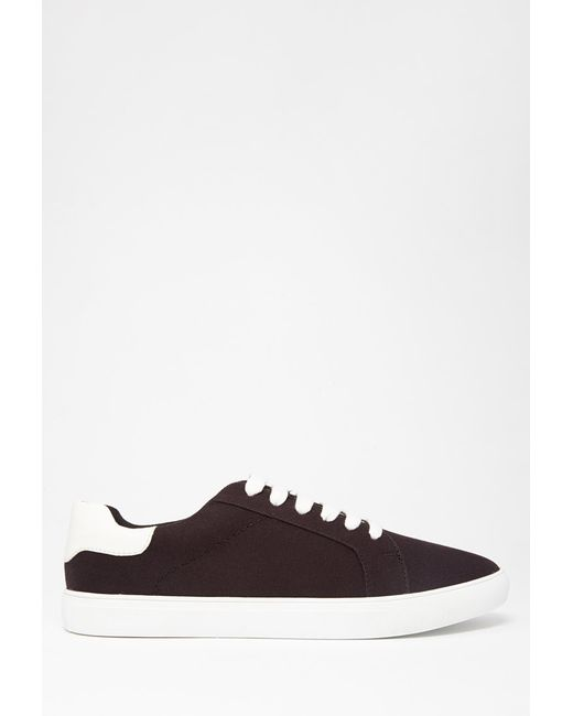 Forever 21 | Black Classic Canvas Sneakers | Lyst
