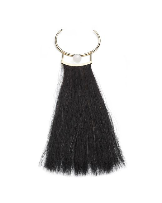 Alexis Bittar | Black Horsetail Hair Crystal Bib Necklace You Might Also Like | Lyst