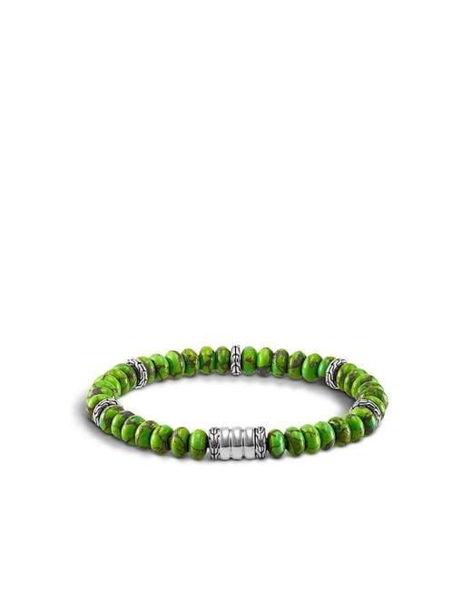 John Hardy | Green Mohave Bedeg Men's Beaded Bracelet for Men | Lyst