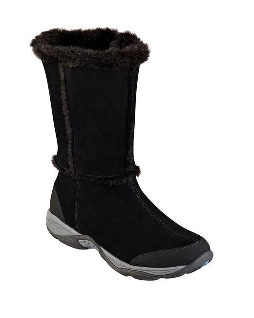 Easy Spirit | Black Barral Ankle Booties | Lyst