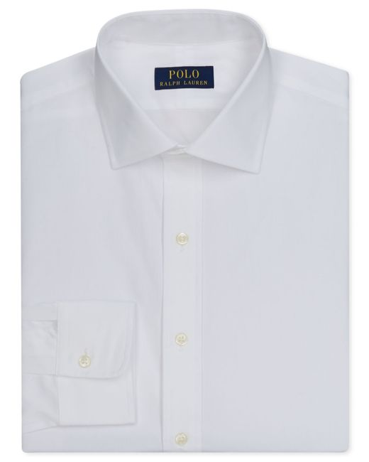 Polo Ralph Lauren | White English Poplin Solid Dress Shirt for Men | Lyst