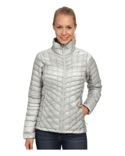 The North Face | Gray Thermoball™ Full Zip Jacket | Lyst