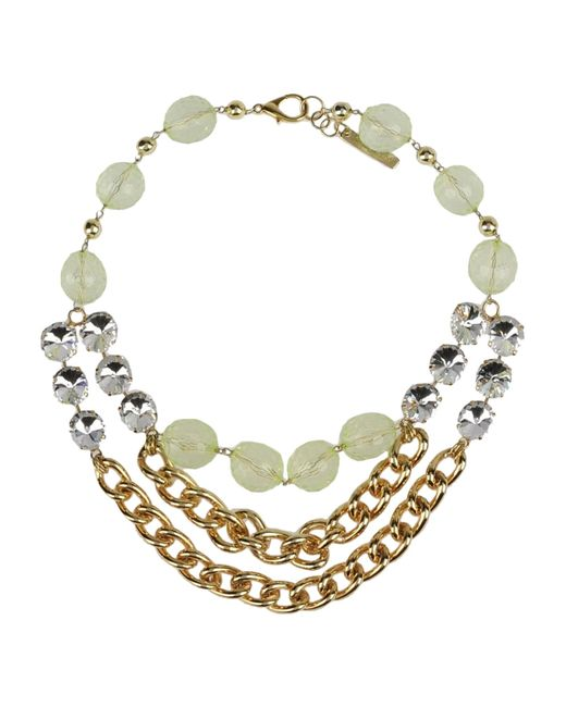 Angelo Marani | Metallic Necklace | Lyst