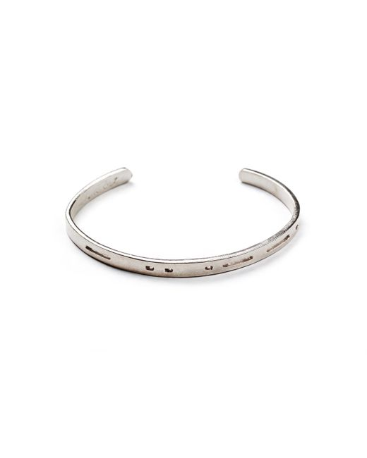 Lulu Frost | White George Frost G. Frost Dot Dash Cuff- Unite for Men | Lyst