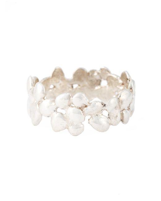 Natasha Collis | Metallic Small Cobbled Ring | Lyst