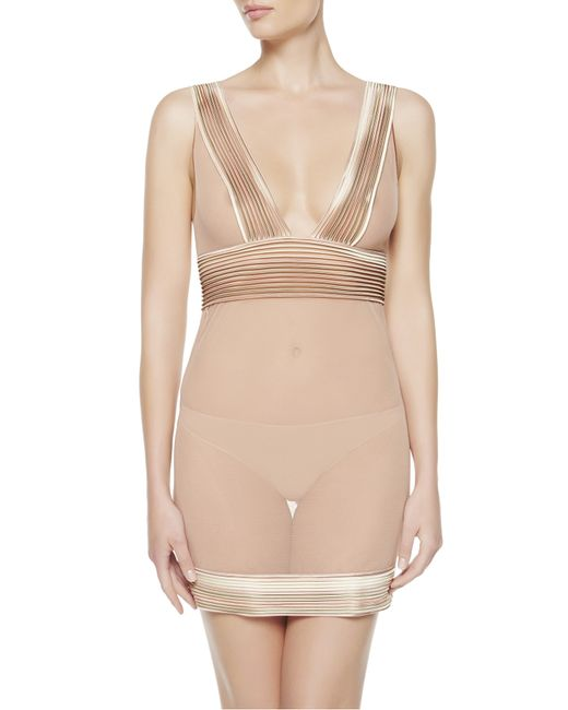 La Perla | Pink Slip With G-string | Lyst