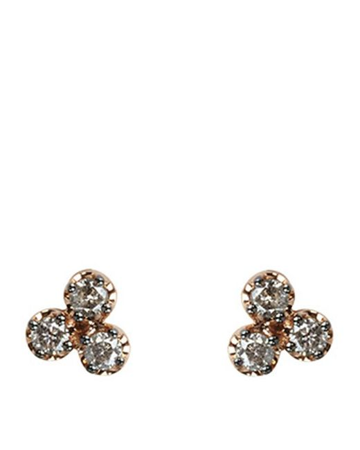 Annoushka | Metallic Dusty Diamonds Trio Earrings | Lyst