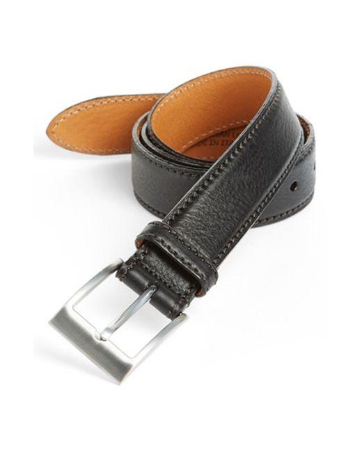 Trafalgar | Black 'brandon' Belt for Men | Lyst