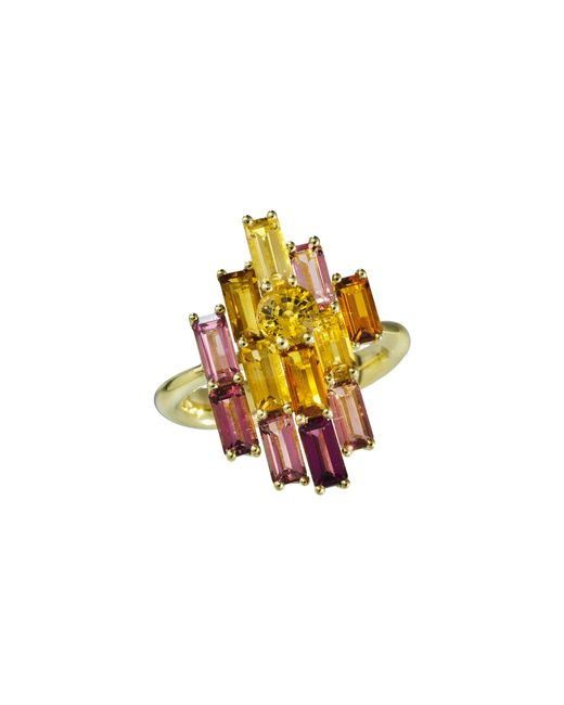 Daou Jewellery | Multicolor Golden Bright Ring | Lyst