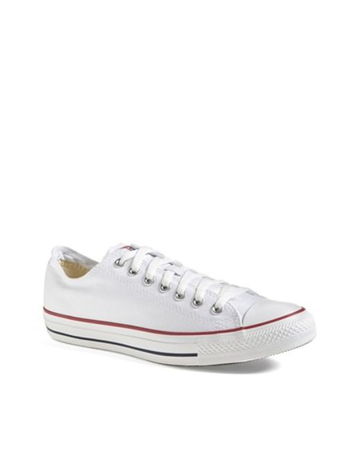 Converse | White Chuck Taylor Low Sneaker for Men | Lyst