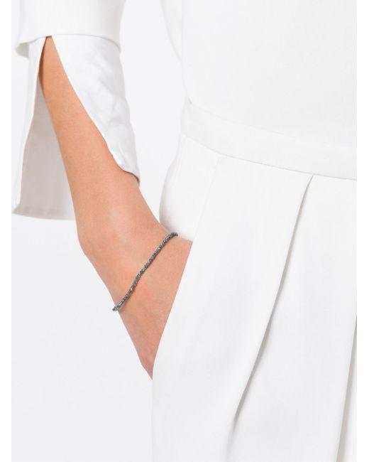 Uzerai Edits | Blue String Diamond Bracelet | Lyst