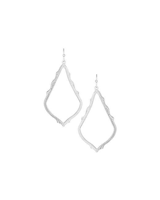 Kendra Scott | White Sophee Earrings | Lyst