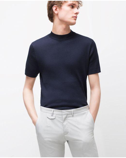 Zara Black High Neck Sweater 117