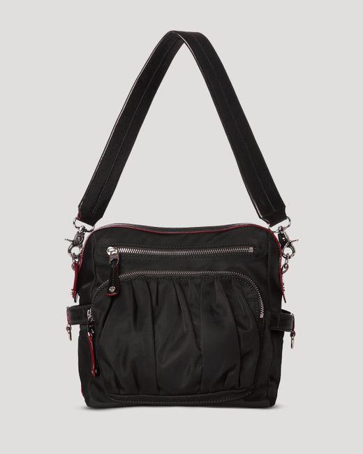 MZ Wallace | Black Lizzy Shoulder Bag | Lyst