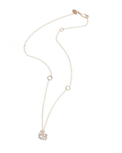 Melissa Joy Manning | Metallic Prong Set Herkimer Diamond Necklace | Lyst