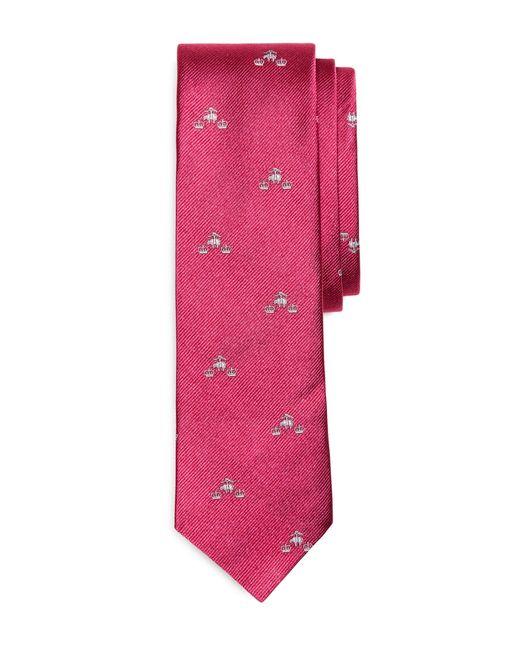 Brooks Brothers   Pink Golden Fleece® And Crowns Slim Tie for Men   Lyst