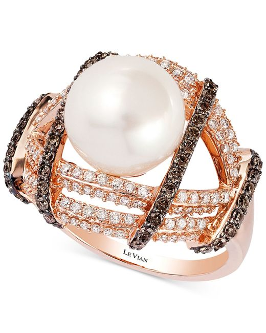 Le Vian Chocolate Pearl Ring