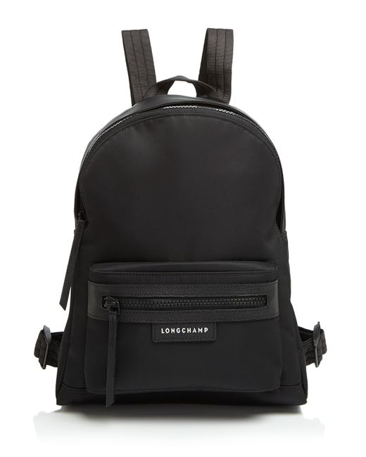 Longchamp | Black Backpack - Le Pliage Neo Small | Lyst