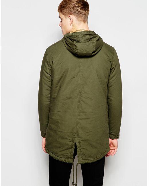 jack jones jacket in green for men forest save 56 lyst. Black Bedroom Furniture Sets. Home Design Ideas