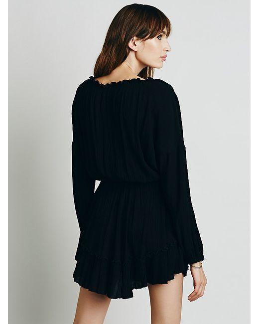 Free People | Black Love Me Like What Dress | Lyst