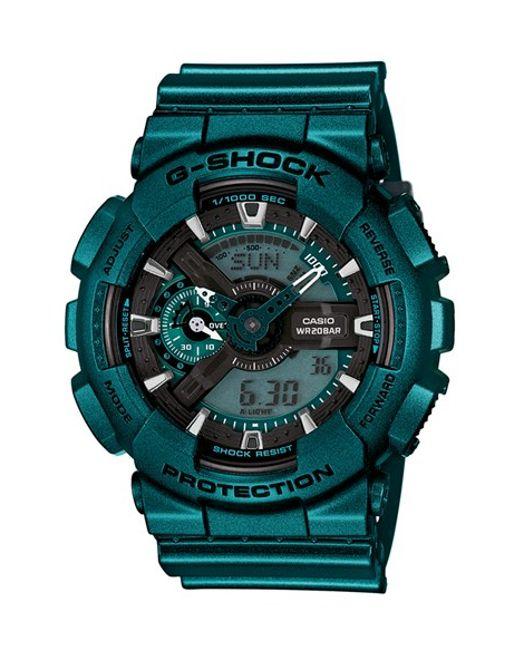 G-Shock | Blue Xl Resin Ana-digi Watch for Men | Lyst