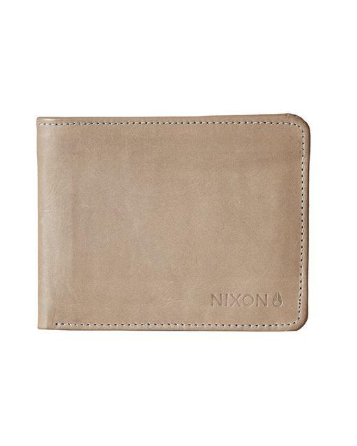 Nixon | Gray Stealth Slim Bi-Fold Wallet | Lyst