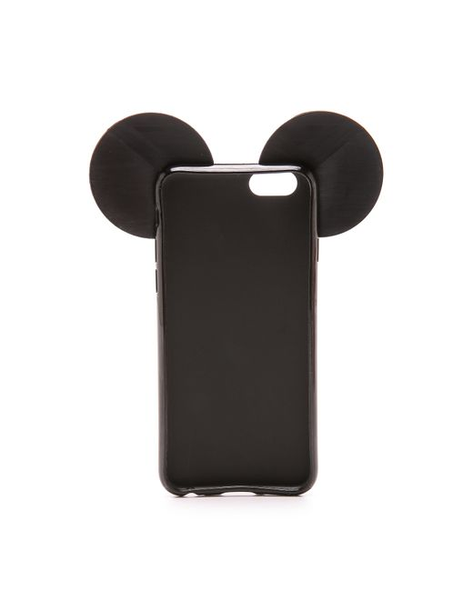 iphoria snake teddy iphone 6 6s case in black black white lyst. Black Bedroom Furniture Sets. Home Design Ideas
