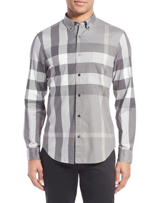 Burberry Brit | Multicolor 'fred' Trim Fit Sport Shirt for Men | Lyst