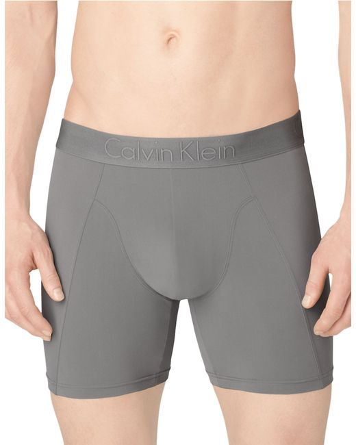 Calvin Klein | Gray Magnetic Force Boxer Brief for Men | Lyst