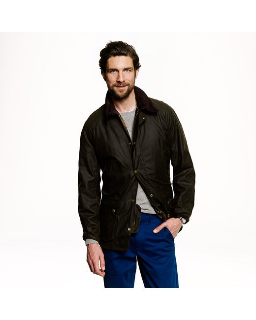 Barbour   Green Sylkoil Ashby Jacket for Men   Lyst