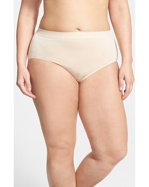 Wacoal | Natural 'b Smooth' Briefs | Lyst