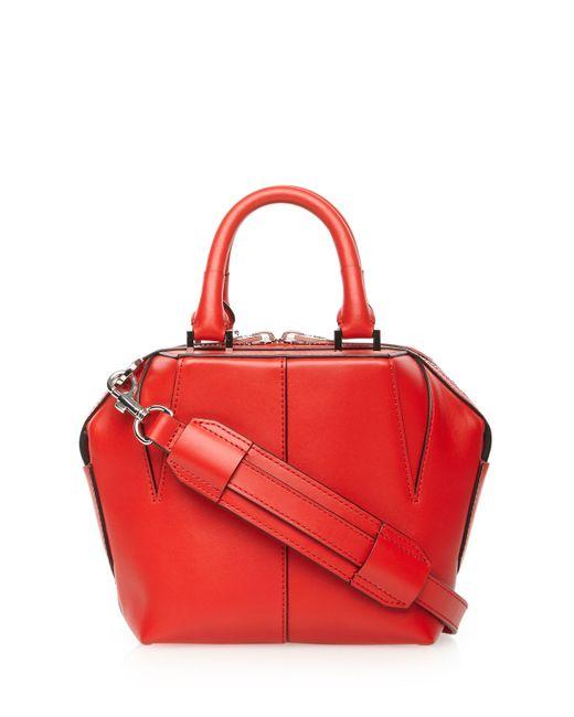 Alexander Wang | Orange 'mini Emile' Leather Satchel | Lyst