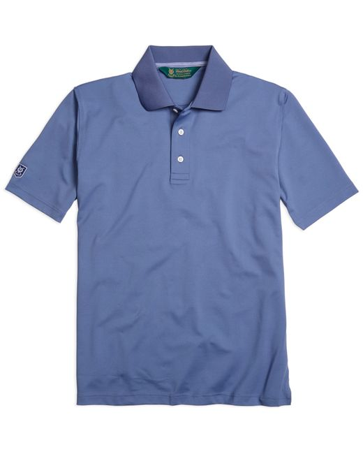 Brooks Brothers | Blue St. Andrews Links Golf Polo Shirt for Men | Lyst