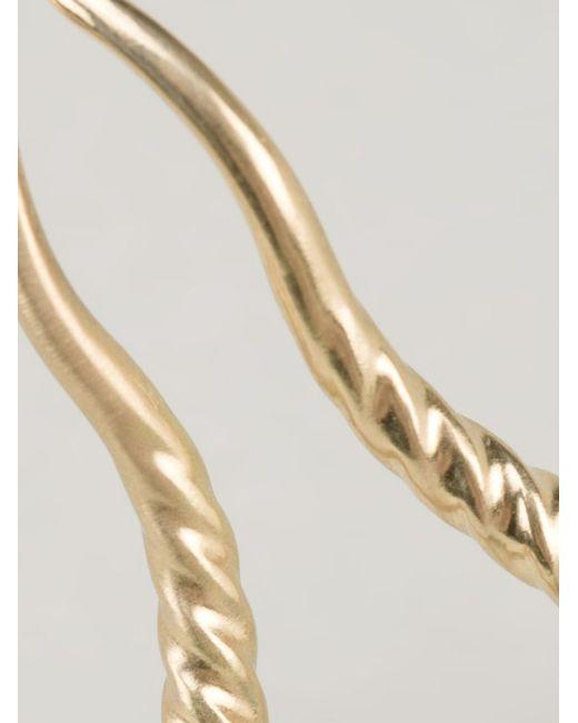 Marc Alary   Metallic 'gazelle Horns' Ring   Lyst