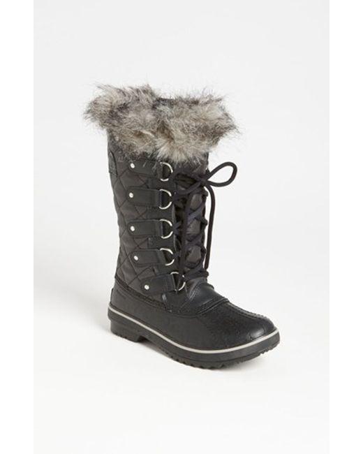 Sorel | Black 'tofino' Boot | Lyst