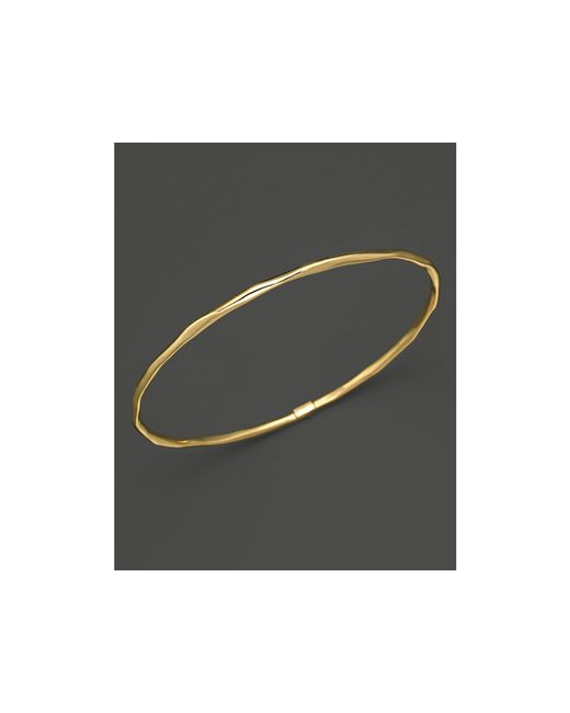 Ippolita | Metallic 18k Gold Glamazon Thin Bangle | Lyst