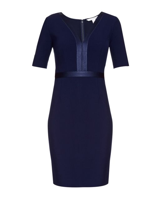 Diane von Furstenberg | Blue Maisie Sheath Dress | Lyst