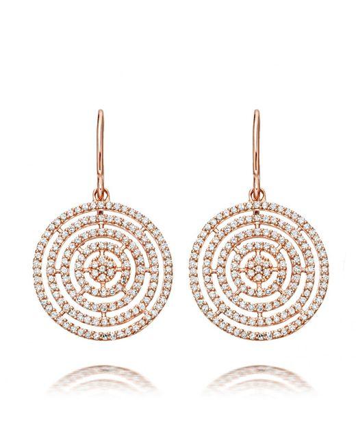 Astley Clarke | Metallic Icon Aura 14ct Rose Gold And Diamond Earrings | Lyst