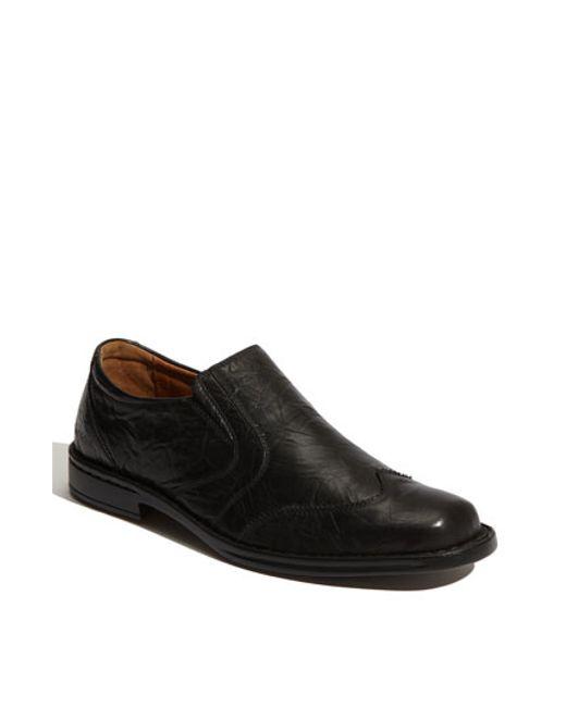 Josef Seibel | Black 'douglas' Venetian Loafer for Men | Lyst