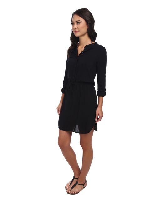 Body Glove   Black Pam Shirt Dress Cover-up   Lyst