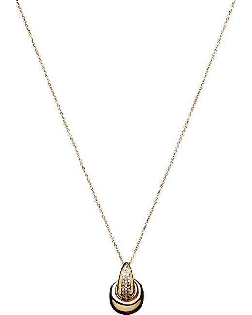 Links of London | Metallic Hope 18ct Gold Diamond Pendant Necklace | Lyst