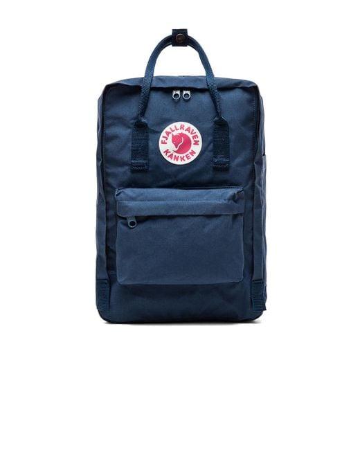 "Fjallraven | Blue Kanken 15"" Laptop Pack | Lyst"