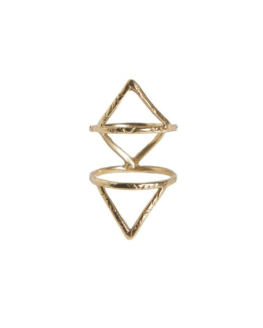 Rebecca Taylor | Metallic Caged Ring | Lyst
