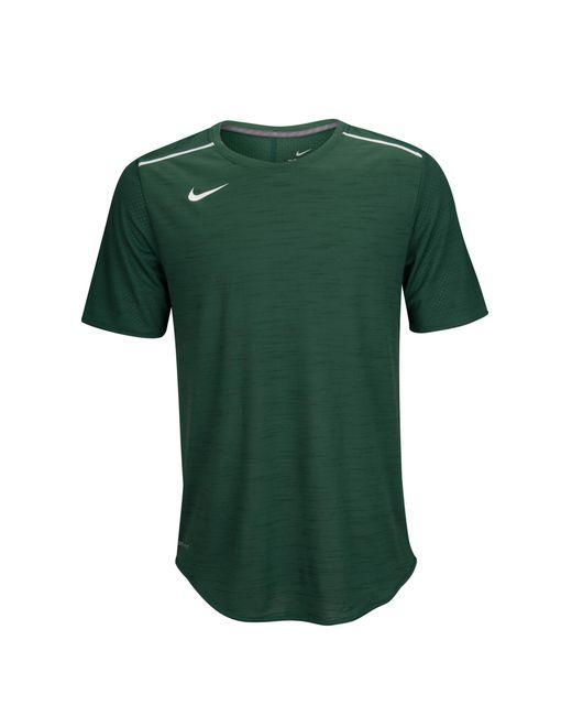 b8c5336fe Nike - Green Team Sideline Breathe S/s Poly Top for Men - Lyst ...