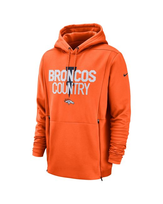 Nike Denver Broncos Nfl Sideline Local Player Fleece Hoodie in  for cheap