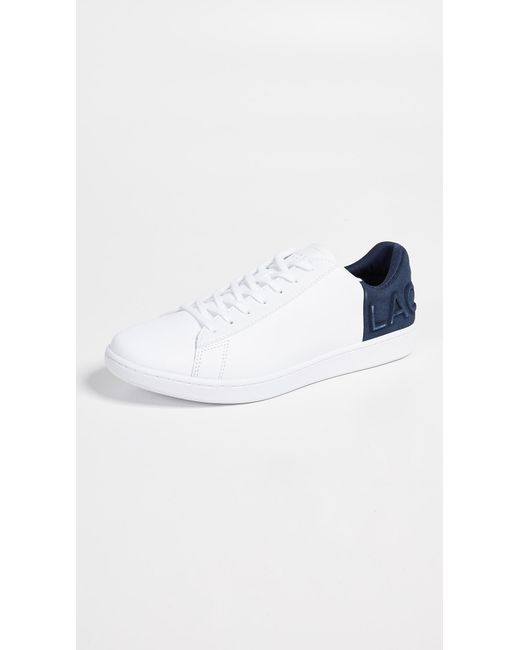 14fc25e87791 Lacoste - Blue Carnaby Evo 318 6 Sneakers for Men - Lyst ...