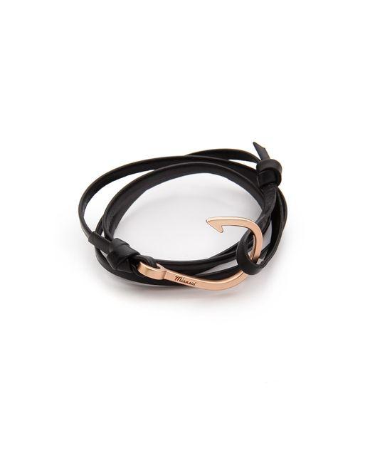 Miansai | Pink Hooked Leather Wrap Bracelet for Men | Lyst