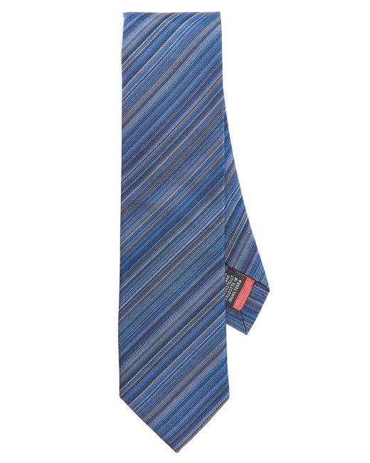 Paul Smith   Blue Multistripe Tie for Men   Lyst