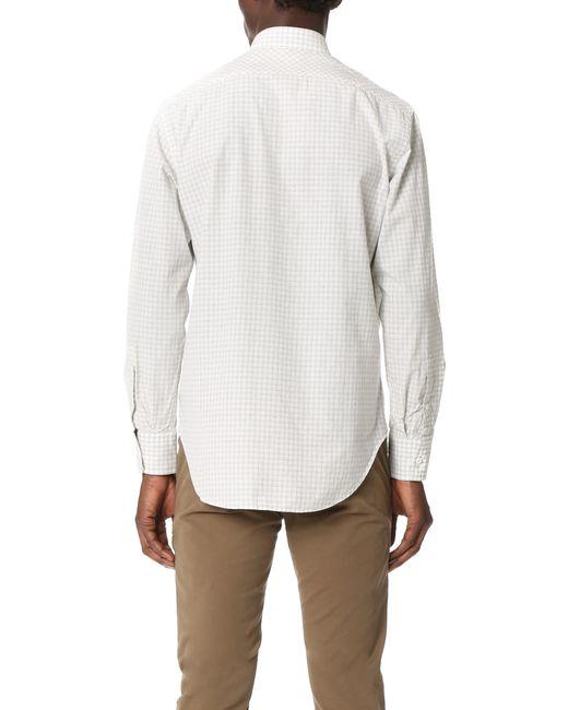 tuscumbia black single men Tuscumbia standard fit  men's windowpane-checked  no appliqués, stripes, classic neckline, long sleeves, buttoned cuffs, front closure, button closing, single.