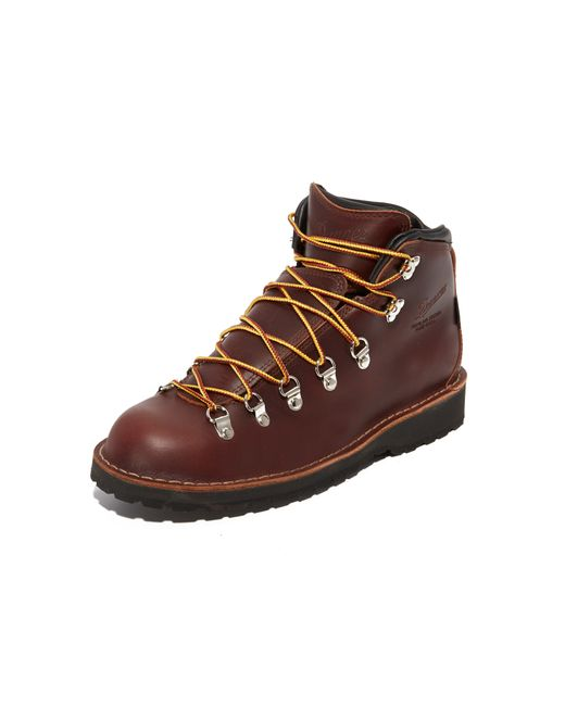 Danner Mountain Pass Leather Ankle Boots In Brown For Men